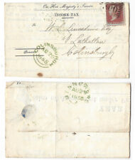 More details for colinsburgh green ink double arc postmark 1855, st andrews duplex #300