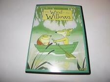 THE WIND IN THE WILLOWS DVD (Animated Classics Collection) MOLE TOAD RAT BADGER