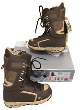 New! Burton Hail Snowboard Boots! Us 7, Uk 6, Mondo 25, Euro 40 Brown