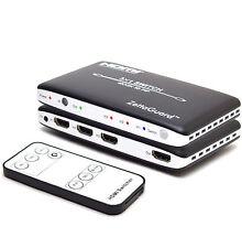 Zettaguard 4K x 2K 3 Port High-Speed 3 x 1 HDMI Switch with PIP & IR Wireless RC