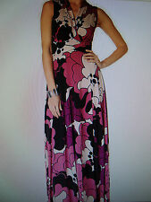"*NEW* PHASE EIGHT / 8  ""YVONNE"" FLORAL DESIGN MAXI DRESS - SIZE 12 *NEW*"