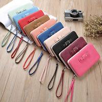 Fashion Women PU Leather Wallet Purse Long Card Holder Clutch Box Bag Handbag