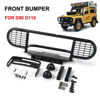 Metal CNC Front Bumper For RC4WD D90 D110 RC 1/10 Rock Crawler