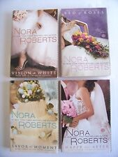 THE BRIDE QUARTET by Nora Roberts Books 1-4 Deckle Edge - Paperback - Romance