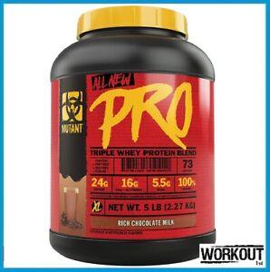 Mutant Pro Triple Whey Protein Blend 2.27kg   73 Servings 12/2021