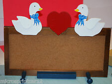 Decorative Geese Decor Wooden Corkboard