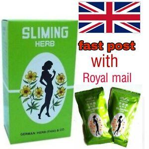 GERMAN SLIMING HERB TEA/ 20 Slimming Weight Loss Tea  Bags UK SELLER