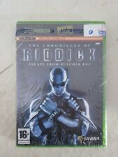Xbox 360 Original New Game Pal Sealed The Chronicles Of Riddick