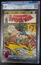 Marvel The Amazing Spider-Man #117 CGC 9.8 (Feb 1973) Disruptor Appearance