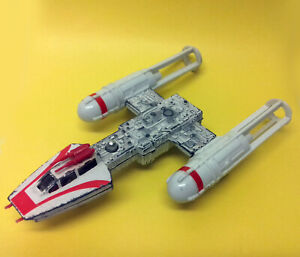 """Vintage Retro Star Wars Y-Wing Fighter ship Diecast Metal 1979 Kenner approx 7"""""""