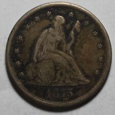1875 CC 20 Cent Twenty Cent Piece WR685