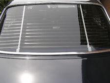 Heckjalousie Mercedes W124 123 Limousine Weiss Schwarz NEU Heckscheibenjalousie