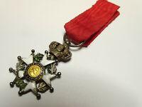 L'étoile de LEGION d'HONNEUR, chevalier, 27 mm, argent, II émpire / 00016