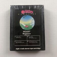 HEART Magazine 1977 Mushroom Records FACTORY SEALED 8-Track Tape WITHDRAWN