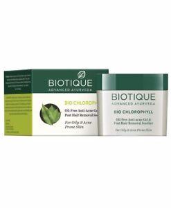 Biotique Bio Chlorophyll Oil Free Anti Acne Gel For Oily & Acne Prone Skin-50g