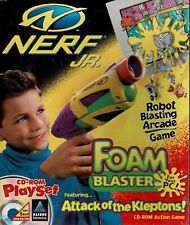 Nerf Jr Foam Blaster Attack of the Kleptons Pc Sealed New In Retail Box