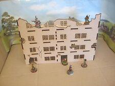28mm Large Wargame Ruins set D Factory  House Scenery Buildings Bolt Action 40K