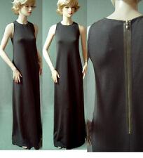 NWT ST JOHN Slate Color Milano Knit Sleeveless Maxi  Dress sz 8    SALE