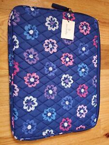 """NEW Vera Bradley 13"""" Tablet Sleeve ELLIE FLOWERS"""