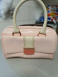 TED BAKER PINK PATENT LEATHER BAG
