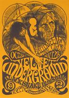 Reproduction The Velvet Underground - Halloween Poster, Home Wall Art