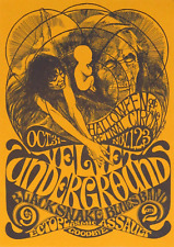 Reproduction The Velvet Underground - Halloween Poster, Home Wall Art