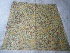 William Morris Fruit Minor Cotton Fabric 67cm x 66cm Crafting