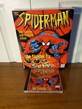 Spider-Man The Sinister Six 1-CD PC Video Game 1996