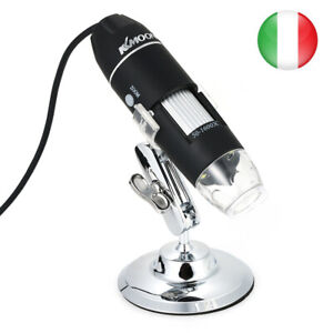 1000X USB Digitale HD Video Microscopio 8LED Lente D'Ingrandimento Ingrandimento