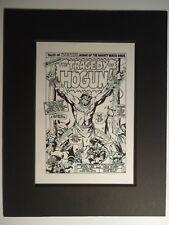 1967 THOR # 137  HOGUN BONDAGE PAGE 1 JACK KIRBY & VINCE COLLETTA PRODUCTION ART