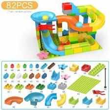 Building Blocks Toys Educational Set Kids Crazy Marble Race Run MazeTrack