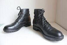 La Martina de lujo elegante schnürstiefeletten Boots cuero genuino multicolor 45-45,5