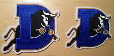 DURHAM  BULLS  2  PATCHES   BRAND NEW  QUALITY  EMBROIDERED