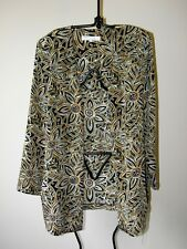 Diana Richards lightweight jacket great for anytime day or night size 12 -14