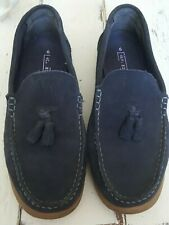 NEXT SLIP ON LOAFERS UK 6 SUEDE UPPERS RUBBER SOLE