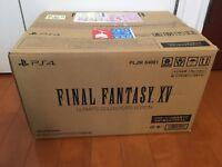 New PS4 - Final Fantasy XV Ultimate Collectors Edition Japan Square Enix e-STORE