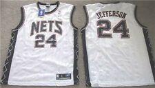 NEW JERSEY NETS JEFFERSON JERSEY XXL 2XL 2X REEBOK SPURS NWT HOME WHITE