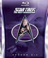 Star Trek The Next Generation Season 6 Sixth Series Six 6th (blu Ray 6-discs)vgc