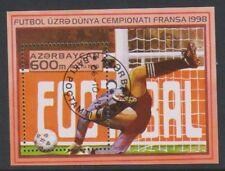 Azerbaijan - 1995, World Cup Football, France sheet - CTO - MS272