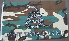 3X5 DON'T TREAD ON ME FLAG CAMOFLOUGE CAMO GADSDEN F888