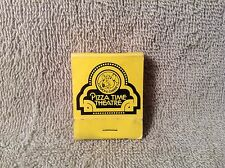 VINTAGE CHUCK E CHEESE PIZZA TIME THEATRE MATCH BOOK COVER USED SUN VALLEY CA