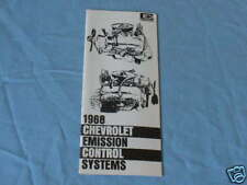 1968 Chevy emission control system manual