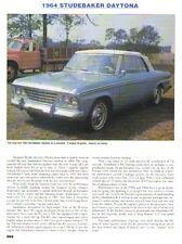 1964 Studebaker Daytona Convertible Article - Must See !!
