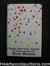 Happy New Year, Herbie by Evan Hunter (first printing)- High Grade