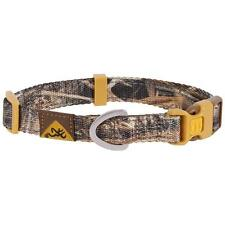 Browning Classic Webbing Dog Collar Mossy Oak Blades Camo - Large