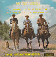 """7"""" FRENCH EP 45 TOURS THE NIGHTRIDERS """"Oh Susannah +3"""" 60'S WESTERN"""