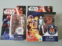 Star Wars The Force Awakens Figure Lot of 2 Flametrooper and Guavian Enforcer