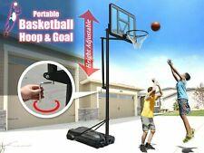 Backboard sports Indoor Outdoor Adjustable Basketball Hoop Goal Stand Portable