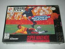 International Superstar Soccer Deluxe (Super Nintendo SNES, 1995) NEW Sealed ISS
