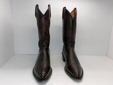 Lucchese Walnut Lonestar Cowboy Boots M1023 Men's 8.5D Very Nice